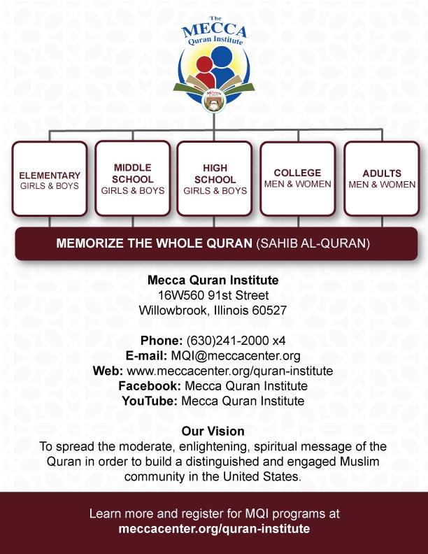 Quran Institute Registration – Mecca Center